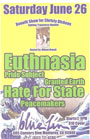 Pride Subject w/ Euthnasia, Hate For State, Granted Earth, Peacemakers @ The Bluefin - Monterey, CA